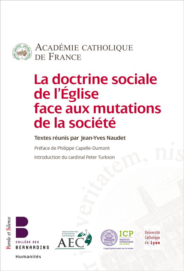 LA DOCTRINE SOCIALE DE L'EGLISE FACE AUX MUTATIONS DE LA SOCIETE